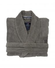 Szlafrok unisex Grey Hotel Velour Robe Lexington