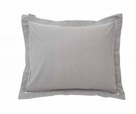 Poszewka na poduszkę Gray/ White Hotel Percale Pillowcase Lexintgton