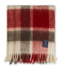 Koc Checked Mohair Mix Throw Lexington 130x170cm