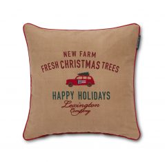 Poduszka Holiday Car Cotton Twill Pillow Lexington 50x50cm