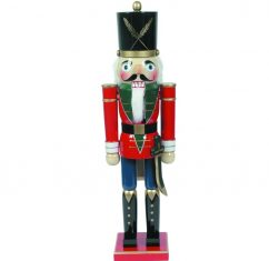 Duża figurka Nutcracker Soldier BBHome 80cm
