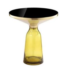 Stolik boczny Fresno Yellow AD 50x53cm