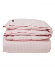 Poszwa na kołdrę Pink/White Pin Point Duvet Lexington