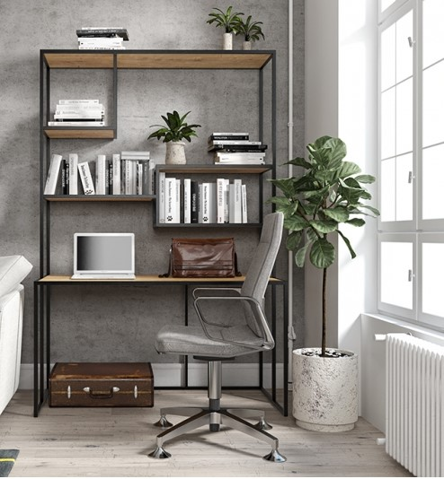 biurko z regałem flora bbhome
