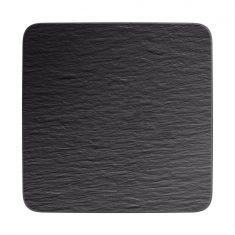 Talerz kwadratowy Manufacture Rock Villeroy&Boch 32,5×32,5×1,5 cm