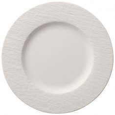 Talerz obiadowy Blanc Manufacture Rock Villeroy&Boch 27cm