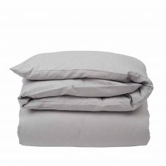 Poszwa na kołdrę Grey Jacquard Sateen Lexington bbhome