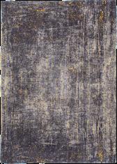 Czarno Złoty Dywan w Jodełkę - Broadway Glitter 8422 Louis De Poortere