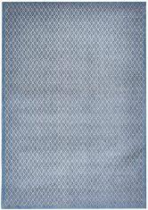 Niebiesko Szary Dywan Nowoczesny – ROMBO BLU GRIGIO 9036 Splendore di Venezia