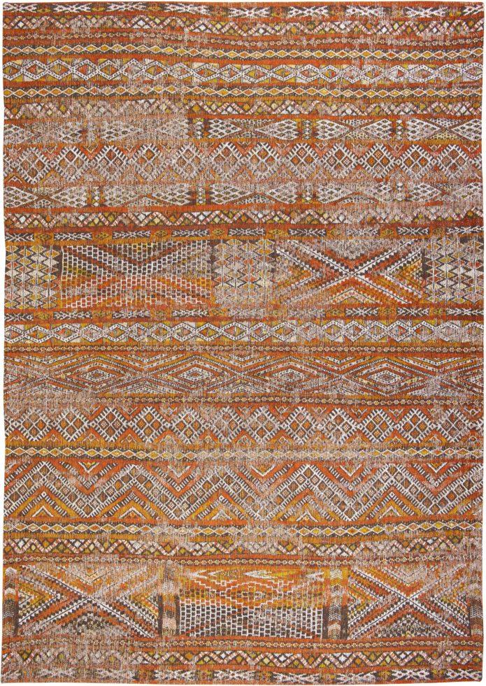Pomarańczowy Kilimowy Dywan - RIAD ORANGE 9111 Louis De Poortere