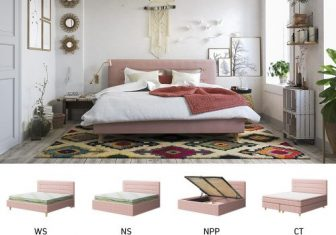 Łóżko tapicerowane Fun Sembella