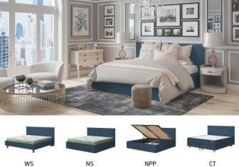 Łóżko tapicerowane Joy Sembella