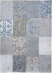 Niebieski Dywan Patchwork - BRUGES BLUE 8981 Louis De Poortere