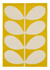 Żółty Dywan w Liście – YELLOW STEM 059306 Orla Kiely