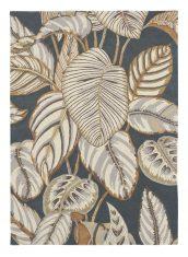 Szary Dywan w Beżowe Liście – CALATHEA CHARCOAL 050805 Sanderson