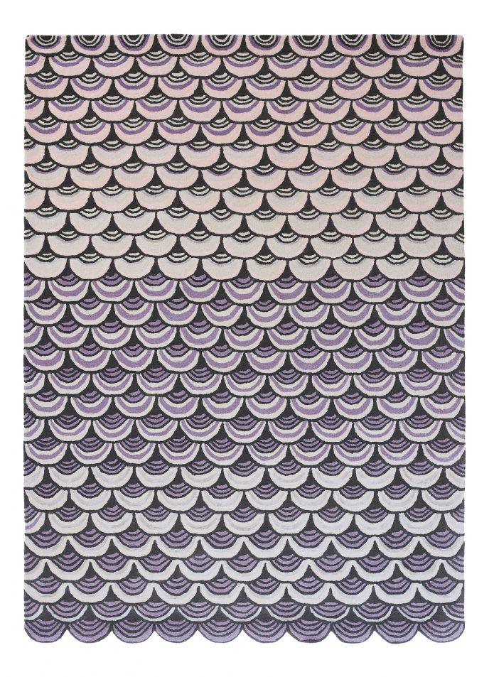 Nowoczesny Dywan o abstrakcyjnym wzorze - MOSQUERADE PINK 160002 Ted Baker