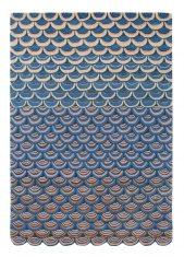 Nowoczesny Dywan o abstrakcyjnym wzorze – MOSQUERADE BLUE 160008 Ted Baker