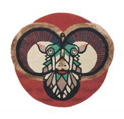 Nowoczesny Okrągły Dywan W Znak Zodiaku Baran – ZODIAC ARIES 161105 Ted Baker