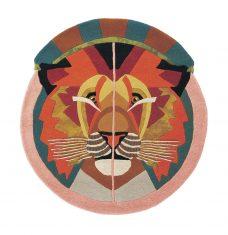 Nowoczesny Okrągły Dywan w Znak Zodiaku Lew – ZODIAC LEO 161505 Ted Baker