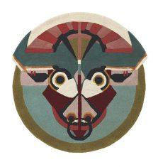 Nowoczesny Okrągły Dywan w Znak Zodiaku Byk   – ZODIAC TAURUS 161205 Ted Baker