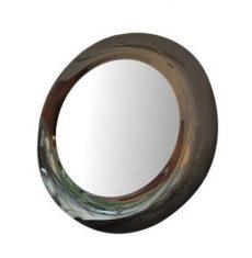 Lustro dekoracyjne Oceano Silver Bronze bbhome