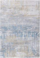 Beżowo Niebieski Dywan Nowoczesny - LONG ISLAND BLUE 8718 Louis De Poortere