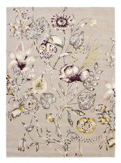 Beżowy Dywan w Kwiaty - QUINTESSENCE HEATHER 41801 Harlequin