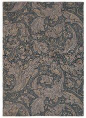 Brązowy Dywan w Kwiaty – BACHELORS BUTTON CHARCOAL 28205 Morris & Co.