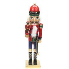 Figurka Nutcracker King Reddish Gold BBHome 38cm
