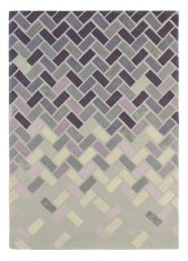 Fioletowy Dywan Geometryczny – AGAVE ASH 57104 Ted Baker