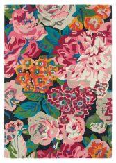 Kolorowy Dywan w Kwiaty - ROSE & PEONY 45005 Sanderson