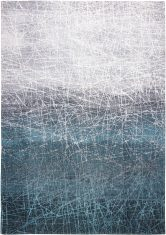 Niebieski Dywan Nowoczesny – POLAR VORTEX 8877 Louis De Poortere