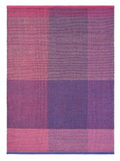 Różowo Fioletowy Dywan Kilimowy – CHECK BURGUNDY 56400 Ted Baker