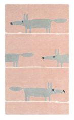 Różowy Dywan Dziecięcy - MR FOX BLUSH 25302 - rozmiar 140x200 cm Scion Living
