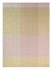 Zielono Różowy Dywan Kilimowy – CHECK NEUTRAL 56402 Ted Baker