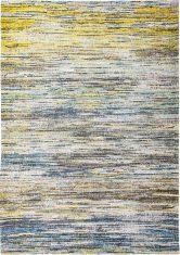Żółto Niebieski Dywan w Paski - BLUE YELLOW MIX 8873 Louis De Poortere