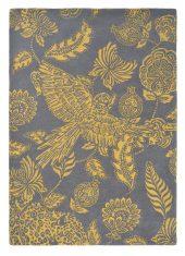 Żółto Szary Dywan w Kwiaty - LORAN YELLOW 56306 Ted Baker