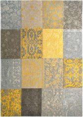 Żółty Dywan Patchwork – YELLOW 8084 Louis De Poortere