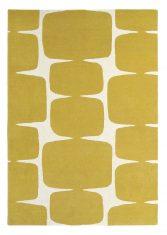 Żółty Dywan Geometryczny – LOHKO HONEY 25806 Scion Living