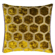 Poduszka dekoracyjna Manipur Ochre Designers Guild 43x43cm