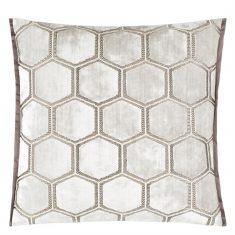 Poduszka dekoracyjna Manipur Oyster Designers Guild 43x43cm