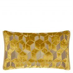 Poduszka dekoracyjna Fitzrovia Ochre Designers Guild 50x30cm
