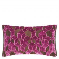 Poduszka dekoracyjna Fitzrovia Damson Designers Guild 50x30cm