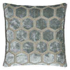 Poduszka dekoracyjna Manipur Silver Designers Guild 43x43cm