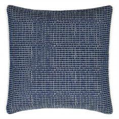 Poduszka żakardowa Pompano Indigo outdoor Designers Guild 45x45m