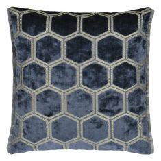 Poduszka dekoracyjna Manipur Midnight Designers Guild 43x43cm