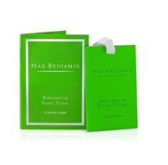 Zawieszka zapachowa Bergamot & Ylang Ylang Max Benjamin bbhome