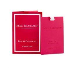 Zawieszka zapachowa Rose & Champagne Max Benjamin bbhome