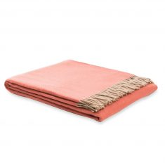 Pled dwustronny Pink Ulisse Marzotto 130x180cm