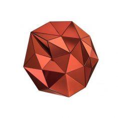 Dekoracja ścienna 3D Topanga Red Eichholtz 13x100x100cm